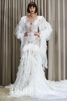 fdaa0620566e2 Christos Costarellos Bridal   Wedding Dress Collection Spring 2018