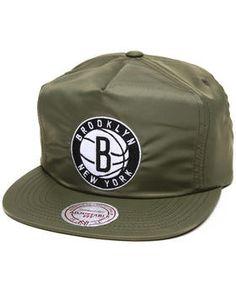 Mitchell & Ness | Brooklyn Nets Nba Hwc Forces Olive Zipback Cap
