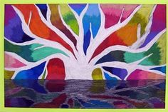 art by 6th graders   6th Grade Art Projects / Banyan Tree-6th Grade