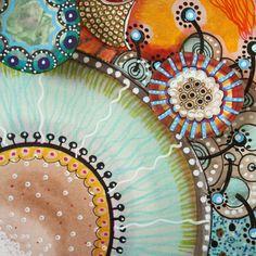 abstract watercolor painting by Elena Nuez Abstract Watercolor, Watercolor And Ink, Watercolor Paintings, Abstract Art, Painting Art, Art And Illustration, Art Altéré, Aboriginal Art, Art Journal Inspiration