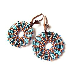 Aztec Rulla Earrings | JewelryLessons.com