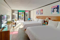 Fenway's newly renovated hotel is the city's hip place to stay: The Verb Hotel Rooms