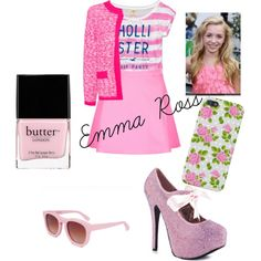 Emma Ross-Jessie by panicatthedisco335 on Polyvore featuring MANGO, Hollister Co., Motel, Viva Bordello, Wildfox and Butter London