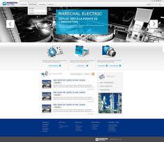 Marechal Electric - Direction artistique , Webdesign, illustrations vectorielles
