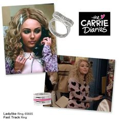 Lia Sophia making an appearance in the Carrie Diaries!  liasophia.com/twl