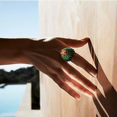 A ring that gets noticed.  #CactusdeCartier #Cartier