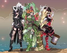 Villainous Pirate Sirens by NoFlutter.deviantart.com on @deviantART