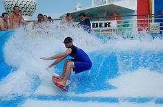 Royal Caribbean Cruise Line - Independence of the Seas  - Flowrider