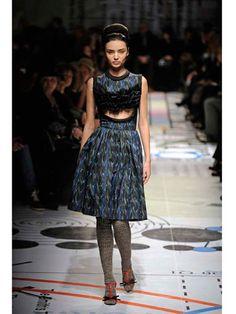 Prada cut out dress.