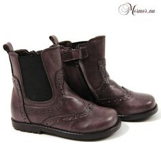 Hip by Pinocchio Leather ankle boots