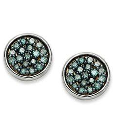 Spotted while shopping on Poshmark: Carat Blue Diamond Sterling Earrings. 14k White Gold Earrings, Sterling Silver Earrings Studs, Buy Earrings, Bridal Jewelry, Jewelry Box, Unique Jewelry, Jewelry Watches, Blue Diamonds, Flower Stud