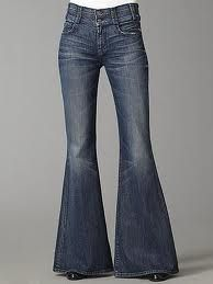Can't fall in love with skinny jeans....apparently love the 70's