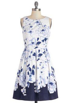 Cool Breeze Dress, #ModCloth