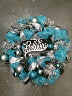 Christmas Wreaths-need to stock up on ornaments on Black Friday!