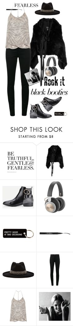 """"""".fearless."""" by ms-wednesday-addams ❤ liked on Polyvore featuring Ann Demeulemeester, Various Projects, Trish McEvoy, Gladys Tamez Millinery, Yves Saint Laurent, Raquel Allegra and Sedgwick"""