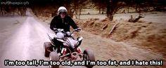 Jeremy Clarkson - Too tall, old, and fat for a 4 wheeler. Jeremy Clarkson, Seinfeld, South Park, Golden Girls, Top Gear Funny, Top Gear Bbc, Cartoon Tv, Grand Tour, Best Tv