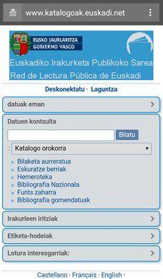 Red de Lectura Pública de Euskadi English, Advertising, Reading, English Language