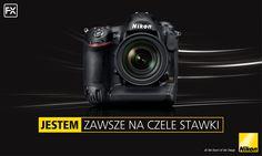 Nikon D4S sprawi, że nie zmarnujesz ani sekundy. Dzięki zapisowi plików RAW w rozmiarze S – formacie opracowanym przez firmę Nikon – przesyłanie zdjęć do sieci odbywa się błyskawicznie, a złącze Gigabit Ethernet w standardzie 100/1000TX umożliwia uzyskanie bardzo szybkiego połączenia.  Poznaj go lepiej: http://www.nikon.pl/pl_PL/product/digital-cameras/slr/professional/d4s