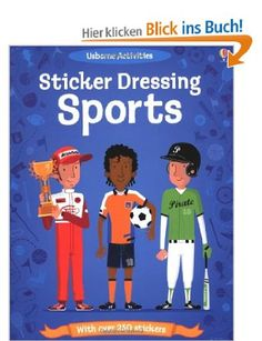 Sports (Usborne Sticker Dolly Dressing): Amazon.de: Kate Davies, Patrick Morize: Englische Bücher