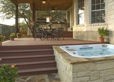 Hot tub deck designs | Archadeck custom decks, patios, sunrooms, and porch builder