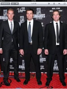 Nashville Predators (they clean up really well)!!!!!