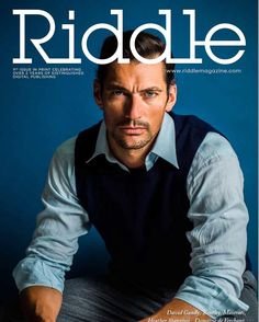 """31 Likes, 1 Comments - Riddle (@riddlemagazine) on Instagram: """"So it's official Riddle are going into print. Front cover @davidgandy_official  #photography…"""""""