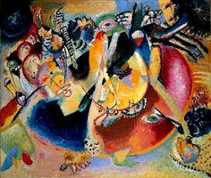 Kandinsky, Improvisation avec Formes froides (1914