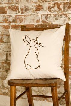Boo Cushion by belleandboo on Etsy, £43.00