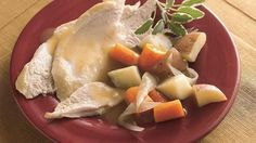 Four ingredients and a slow cooker make it possible to serve your family a turkey dinner any day of the week!