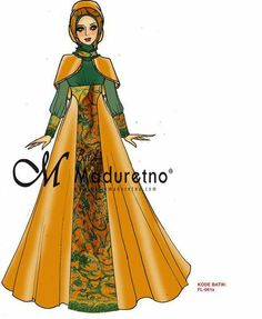 ideas for fashion sketches gowns haute couture Muslim Fashion, Hijab Fashion, Fashion Dresses, Winter Fashion Outfits, Party Fashion, Batik Muslim, Gaun Dress, Batik Fashion, Muslim Dress