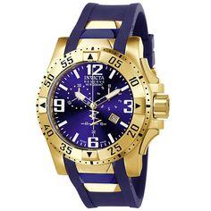 Invicta 6266 Men's Excursion Reserve Blue Dial Chronograph Dive Watch