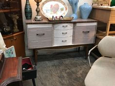 """Sideboard   51"""" Wide x 16"""" Deep x 32"""" High   $395  Booth #310  Lula B's in the OC! 1982 Ft. Worth Ave. Dallas, TX 75208"""