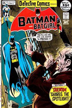 Detective Comics #415 DC Comics   Cover Artists:  N. Adams & D. Giordano