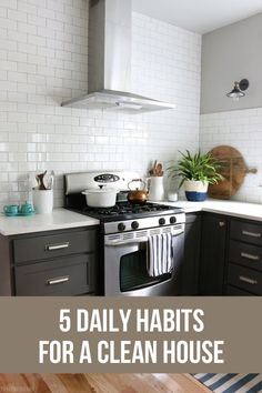 5 Daily Habits for a Clean House