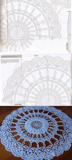 Ажурная салфетка «Хризантема» | Все о рукоделии: схемы, мастер классы, идеи на сайте labhousehold.com
