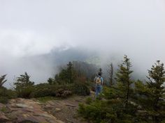 The view at Myrtle Point on Mount LeConte.