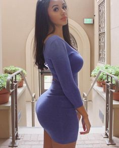 Sexy Girls for You! Tight Dresses, Sexy Dresses, Short Dresses, Hot Dress, Perfect Woman, Sexy Outfits, Fashion Beauty, Sexy Women, Belle