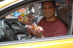 The Candy Cab Gives New York City Passengers a Sweet Ride | Healthy Living - Yahoo! Shine