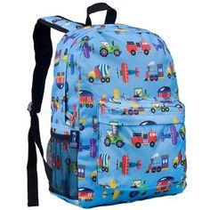 Olive Kids Trains, Planes, Trucks Crackerjack Backpack