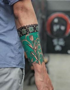 50 Arm Floral Tattoo Designs for Women 2019 – Page 19 of 50 - Inspirierende Tattoos Tribal Tattoos, Irezumi Tattoos, Trendy Tattoos, Forearm Tattoos, Body Art Tattoos, Cool Tattoos, Henna Tattoos, Tattoos Pics, Marquesan Tattoos