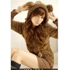 Moda Japonesa. abrigos,sudaderas orejas, Ropa Divina - $ 550.00 en... ❤ liked on Polyvore