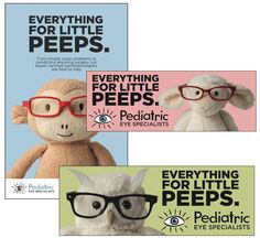 Pediatric Eye Associates – Gold ADDY for advertising for the arts & sciences: integrated campaign #DoYouHaveItFW