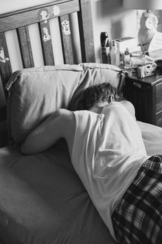 Charlie Levi at Chadwick Models captured at home by Rachel Dray as part of our documentary series 'Boys in Pyjamas' for issue 7. See the full serieshere.