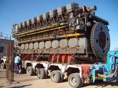 Emma Marsk Ship Engine.