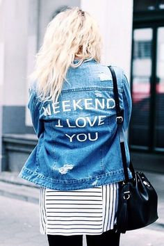Pin for Later: 15 coole Tipps um eure Jeansjacke zu personalisieren