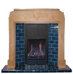 Adam Oslo Inset Electric Stove In Black Fireplace World