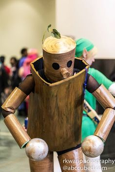 Mokujin Cosplay (Anime Boston 2013)