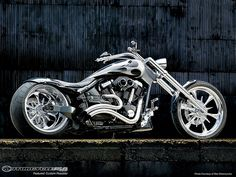 yamaha motorcycle cruiser custom warrior by MotorcycleUSA, via Flickr