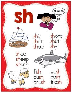 FREE consonant digraph posters!