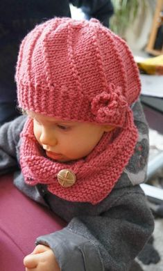Baby Hats Knitting, Baby Knitting Patterns, Sewing Patterns Free, Knitted Hats, Crochet Patterns, Crochet Baby, Knit Crochet, Butterfly Cross Stitch, Diy Clothes